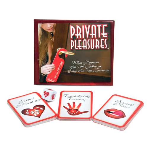 PRIVATE PLEASURES CARD GAME