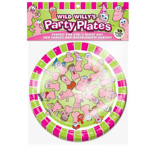 WILD WILLYS PARTY PLATES