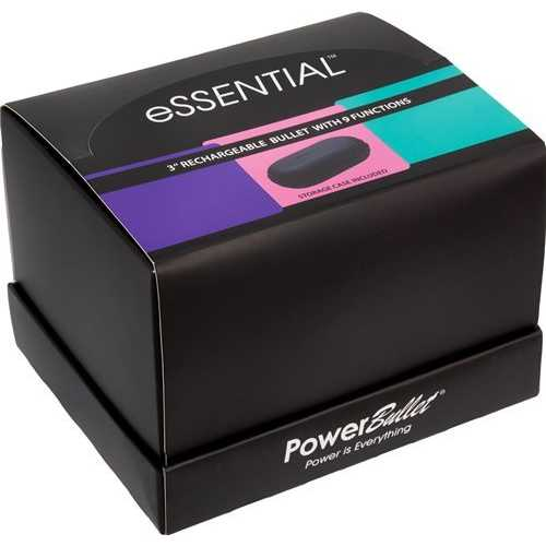 POWER BULLET ESSENTIAL 3.5IN RECHARGEABLE BULLET 12PC DISPLAY