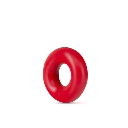 STAY HARD DONUT RINGS RED OVERSIZED