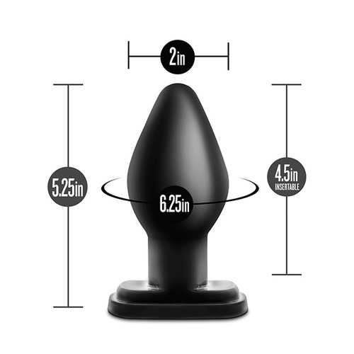ANAL ADVENTURES XL PLUG BLACK