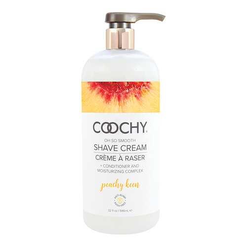 COOCHY SHAVE CREAM PEACHY KEEN 32 FL OZ
