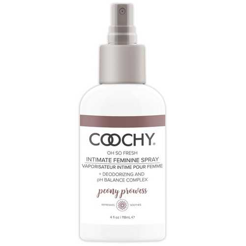COOCHY INTIMATE FEMININE SPRAY PEONY PROWESS 4 OZ (out mid jun)