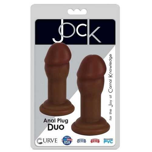 JOCK ANAL PLAY DUO CHOCOLATE