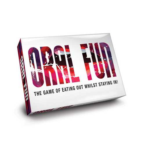 ORAL FUN THE GAME OF EATING OUT WHILST STAYING IN!