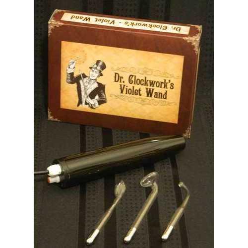 DR CLOCKWORK VIOLET WAND KIT PURPLE ELECTRODE