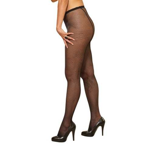 PANTYHOSE FISH NET BLACK OS QUEEN BARCELONA