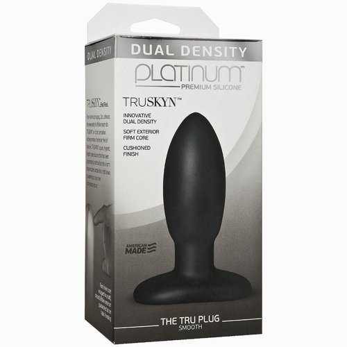 PLATINUM TRUSKYN TRU PLUG SMOOTH BLACK
