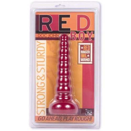 RED BOY ANAL WAND 8.5IN CD