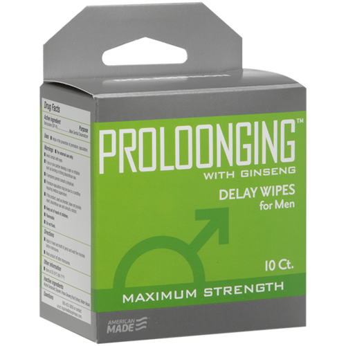 PROLOONGING DELAY WIPES