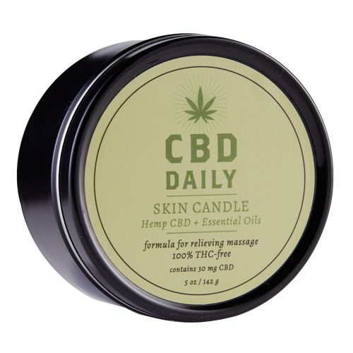 CBD DAILY SKIN CANDLE 3-IN-1 5 OZ