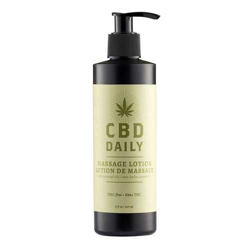 CBD DAILY MASSAGE LOTION 8OZ