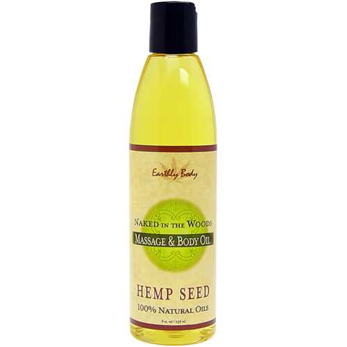 MASSAGE OIL NAKED IN THE WOODS 8 OZ