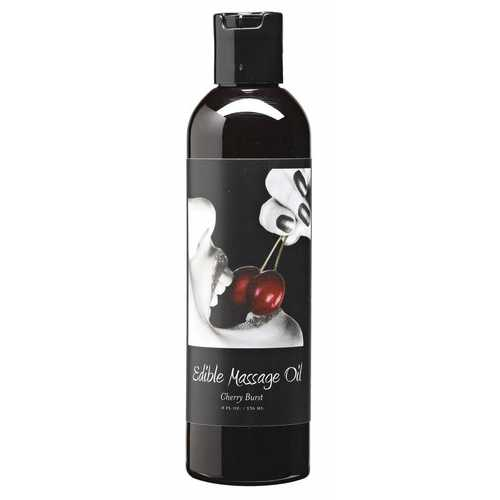 MASSAGE OIL EDIBLE CHERRY 8 OZ