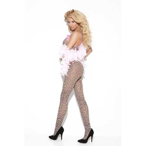 LEOPARD BODYSTOCKING QUEEN
