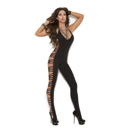 VIVACE OPAQUE BODY STOCKING BLACK O/S