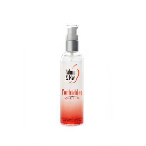ADAM & EVE FORBIDDEN ANAL WATER BASED LUBE 4 OZ