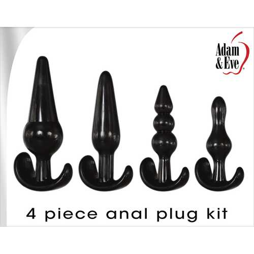 4 PC ANAL PLUG KIT