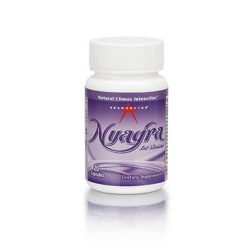 NYAGRA FEMALE ORGASM INTENSIFIER 20PC (NET)