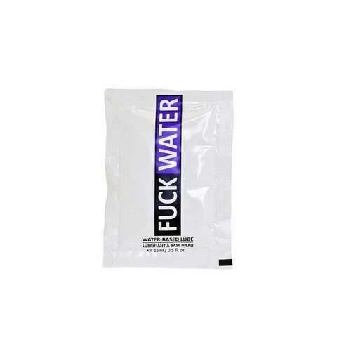 FUCK WATER .3 OZ WATER BASED LUBRICANT PILLOW PACKS