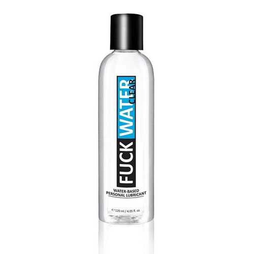 FUCK WATER CLEAR WATER BASED LUBRICANT 4 OZ