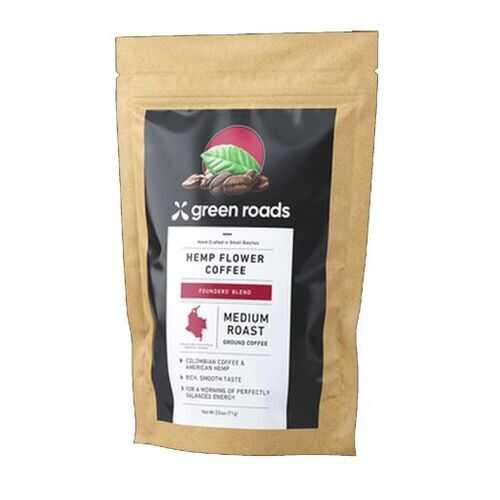 HAZELNUT HEMP FLOWER COFFEE 2.5 OZ (NET)