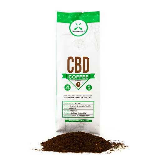 (D) CBD GOURMET COFFEE 2 OZ BA (NET)