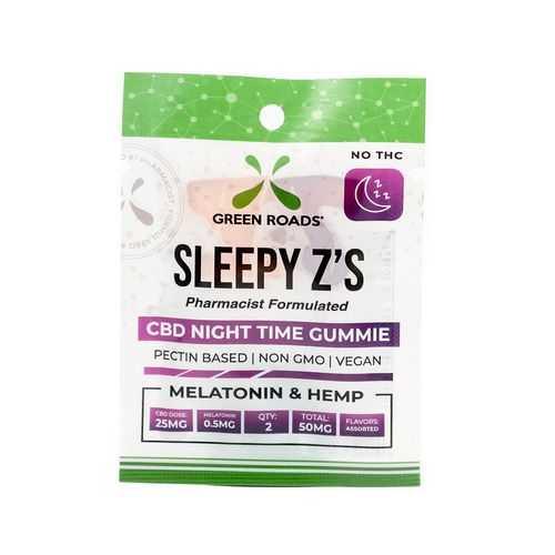 CBD 50MG SLEEPY Z'S SINGLE PC BLACKBERRY (NET)