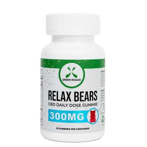 CBD 300MG RELAX BEARS 30 CT (NET)