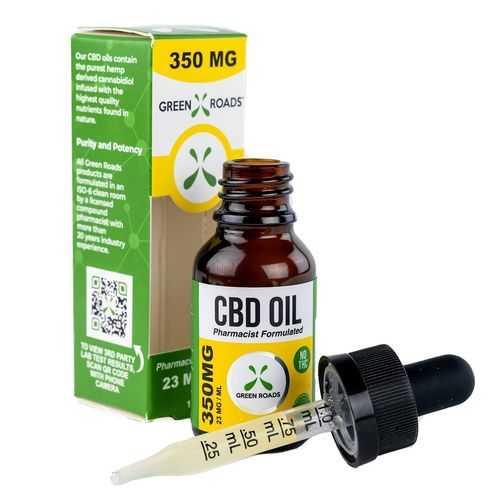 (D) CBD OIL 350MG SUBLINGUAL (