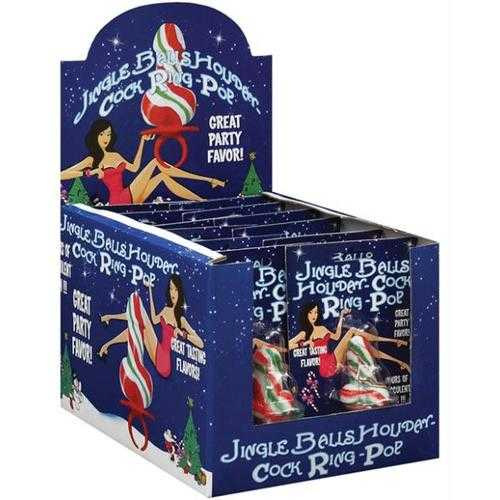 JINGLE BALLS HOLIDAY COCK RING 12PC DSP