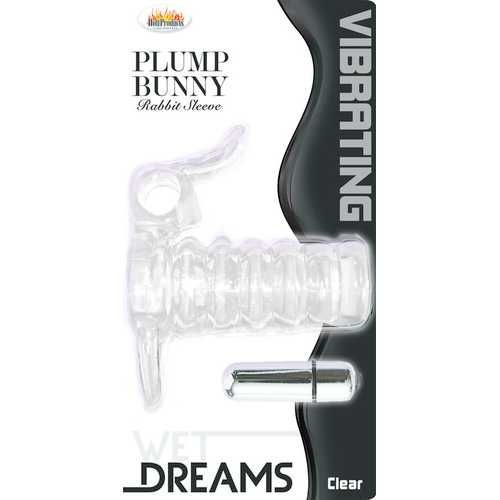 WET DREAMS PLUMP BUNNY CLEAR