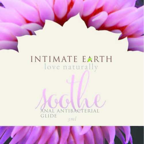 INTIMATE EARTH SOOTHE ANAL ANTI BACTERIAL GLIDE FOIL PACK 3ml (EACHES)