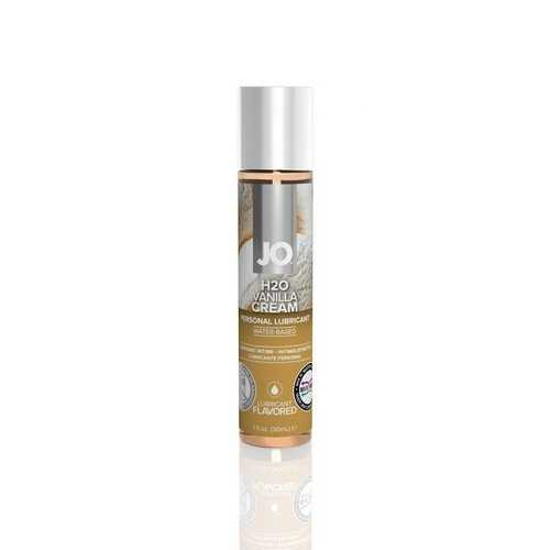 JO VANILLA CREAM LUBE H2O 1OZ FLAVORED LUBRICANT(out end Feb