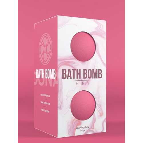 (D) DONA BATH BOMB FLIRTY BLUS BERRY 140G