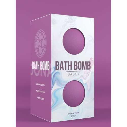 (D) DONA BATH BOMB SASSY TROPI TEASE 140G