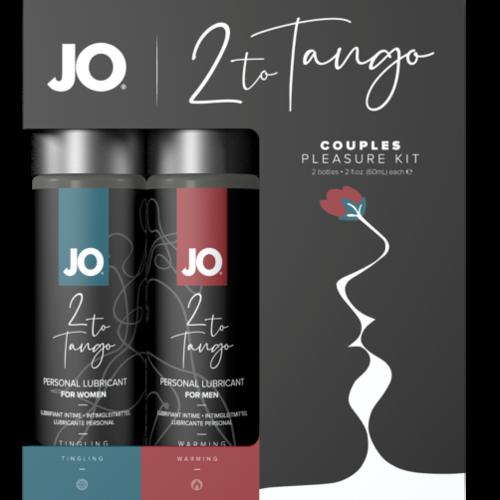 JO 2 TO TANGO COUPLES PLEASURE KIT (Out Mid Jul)