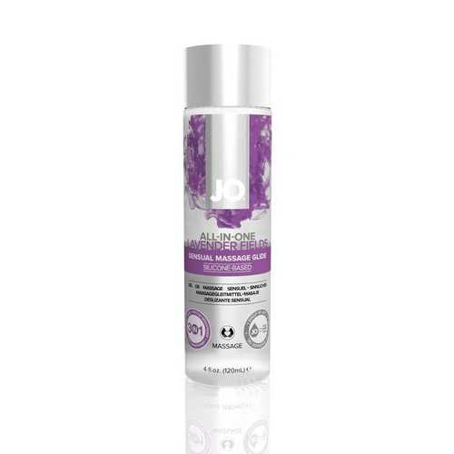 JO ALL IN ONE MASSAGE GLIDE LAVENDER 4 OZ(out end Feb)