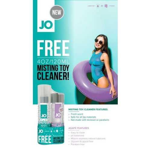 JO GWP AGAPE & MISTING TOY CLEANER 2X 4 FL OZ