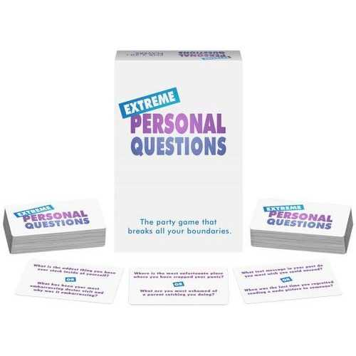 EXTREME PERSONAL QUESTIONS (out mid July)