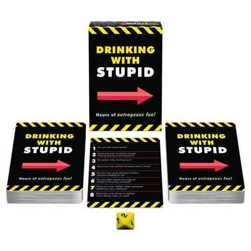 DRINKING WITH STUPID ADULT GAME(out end May)
