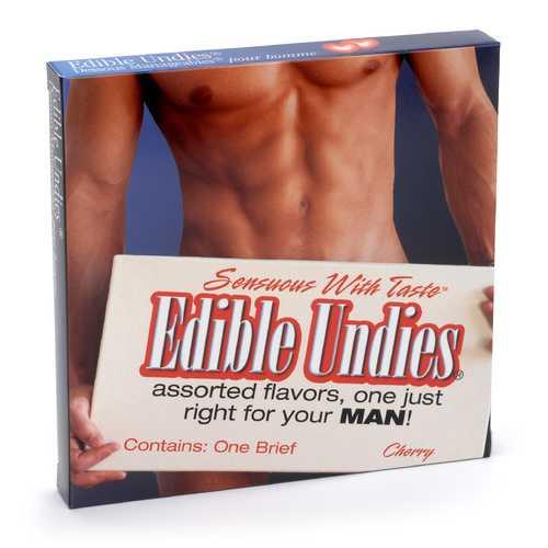 EDIBLE UNDIES MALE-CHERRY (out Dec)