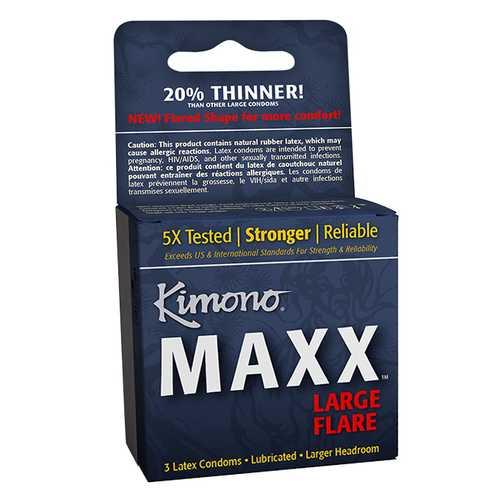 KIMONO MAXX LARGE FLARE 3 PK
