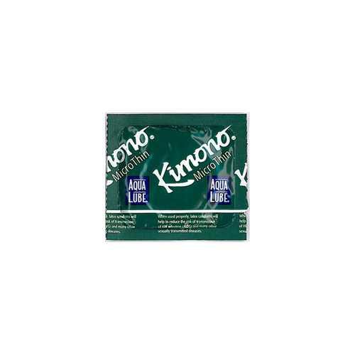 KIMONO MICROTHIN W/ AQUA LUBE 3PK