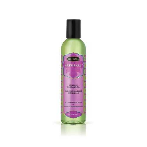 NATURALS MASSAGE OIL ISLAND PASSION BERRY
