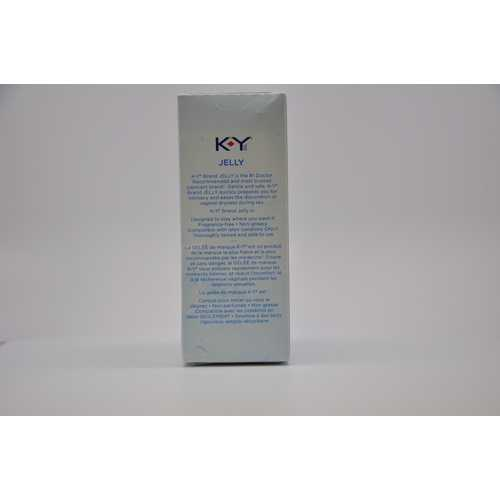 K-Y JELLY 4 OZ TUBE(out April)