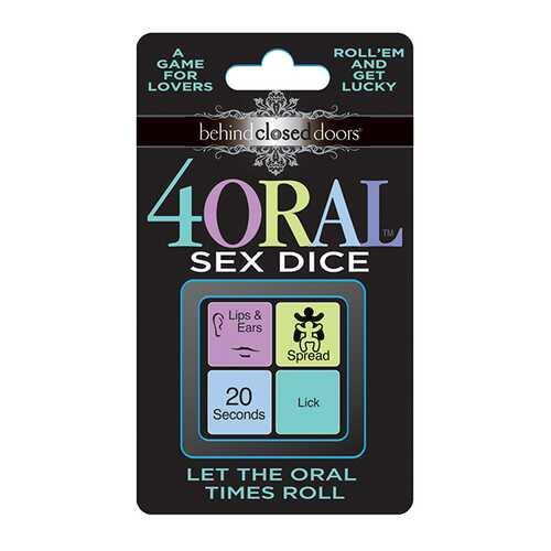 BEHIND CLOSED DOORS 4 ORAL SEX DICE
