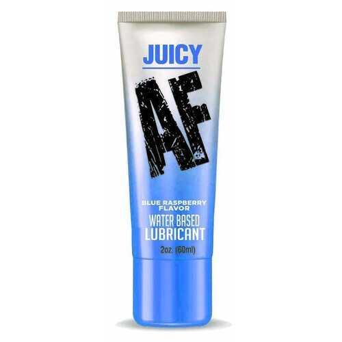 JUICY AF LUBE BLUE RASPBERRY 2 OZ