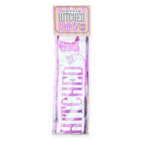 (WD) GETTIN' HITCHED SPARKLE P SASH