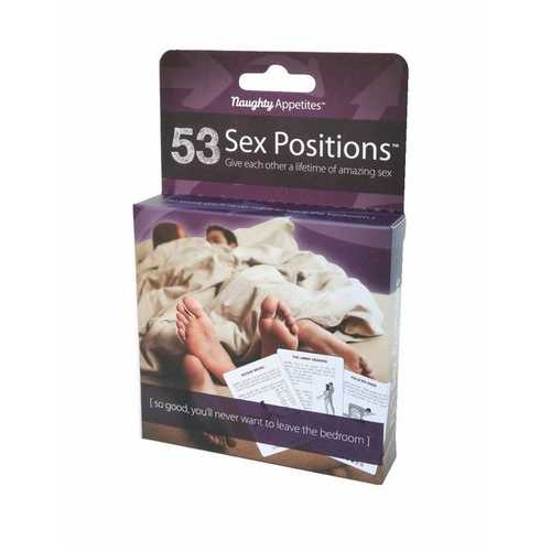 53 SEX POSITIONS CARDS